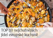 TOP 10 nejchutnějších jídel evropské kuchyně