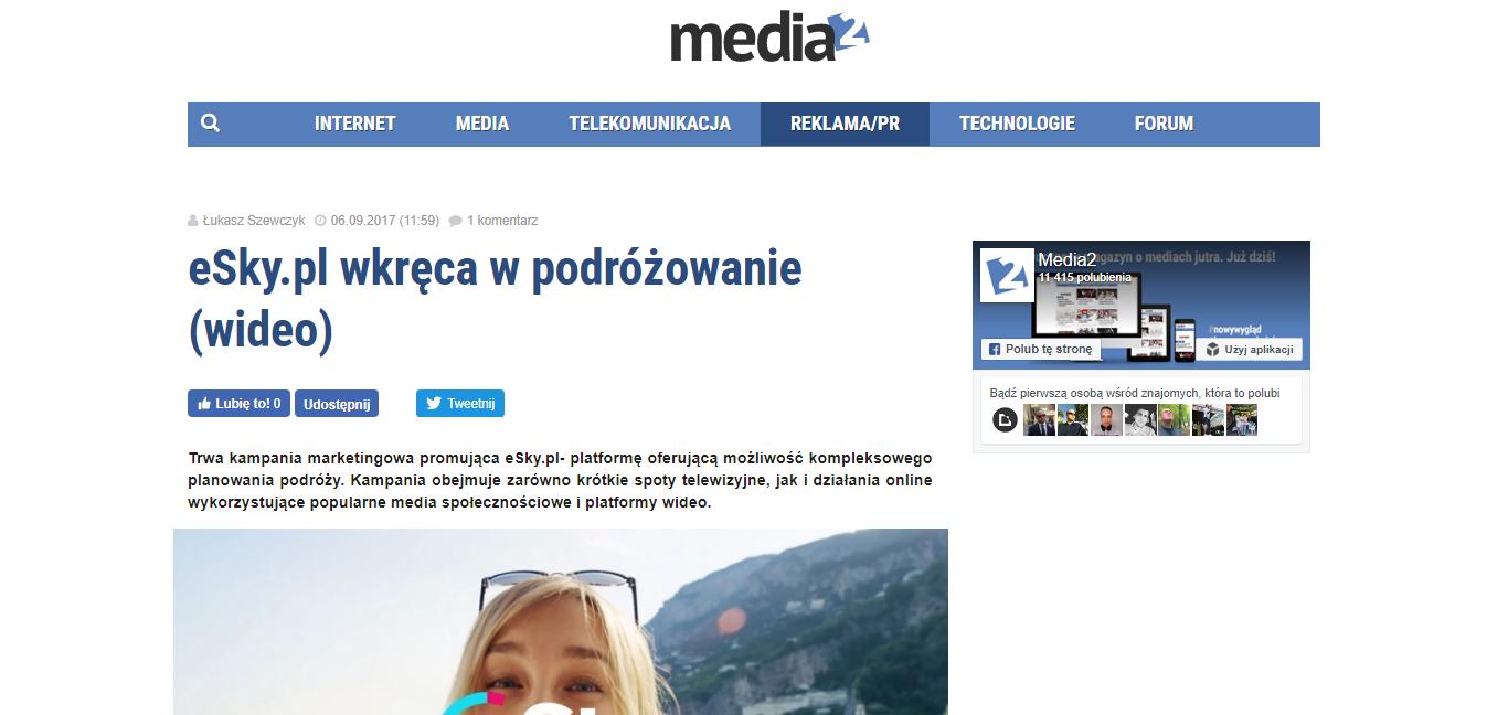 eSky.pl wkręca w podróżowanie