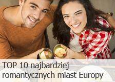Top 10 najromatyczniejszych miast Europy na walentynki