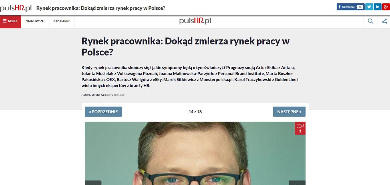 Dokąd zmierza rynek pracy w Polsce - odpowiada Bartosz Waligóra