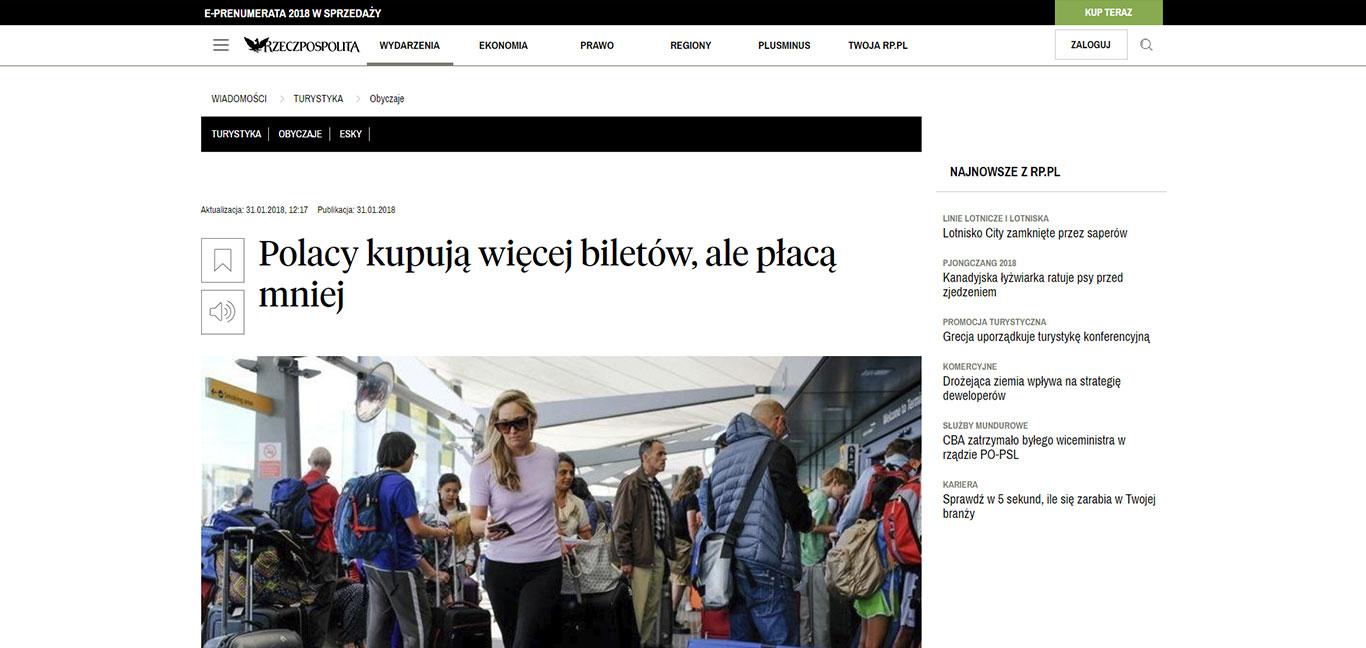 Polacy kupują więcej biletów, ale płacą mniej